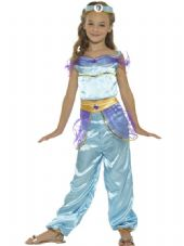 Childs Arabian Princess Costume with Headpiece